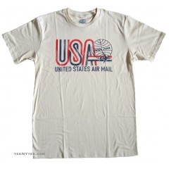 Pan Am t-shirt USA Air Mail