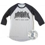 Batman All American Raglan Tri-Blend T