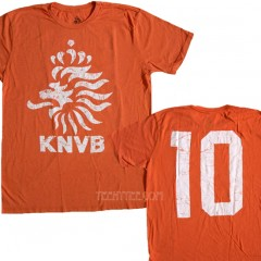 Netherlands Holland KNVB Soccer Team #10 T-shirt