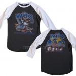 The Who Live 82 All American Raglan T