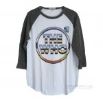 The Who Vintage Tri-Blend Raglan