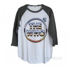 The Who Vintage Tri-Blend Raglan