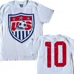 USA World Cup US Soccer Team #10 T-shirt