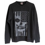 The Misfits Flag Crew Neck Fleece Pullover