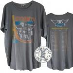 Aerosmith North US Tour 82/83 Shirt Tail Crew T