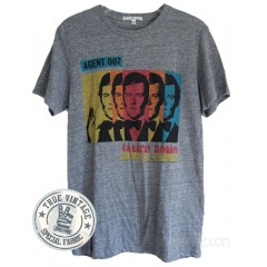 Agent 007 James Bond t-shirt Tri-blend