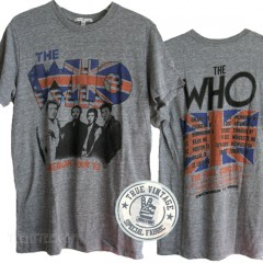 The Who N.American Final Tour 82 Tri-blend T