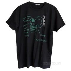 Basquiat SKULL Classic Crew T