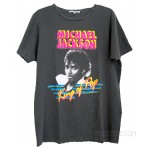 Michael Jackson King of Pop 30 year Wash Destroyed T