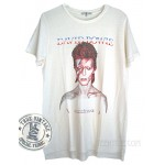 David Bowie Aladdin Sane Side Step Split Crew T