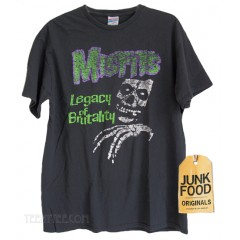 The Misfits Legacy Junk Food Originals Collection T-shirt