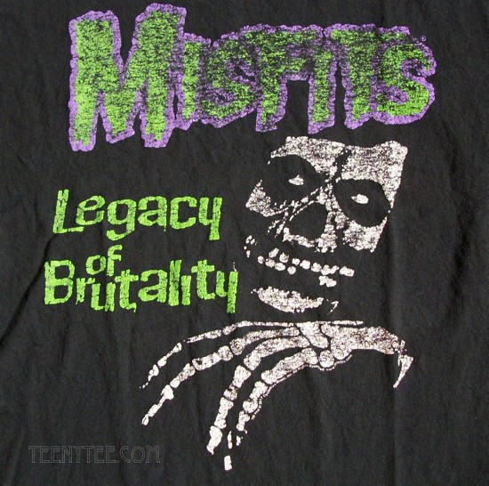 f0bd85ab The Misfits Legacy Junk Food Originals Collection T-shirt
