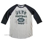 NFL 2013-4 New York JETS Rookie Raglan Flocking / Mens
