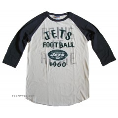 NFL 2013-4 New York JETS Rookie Raglan Flocking / Mens