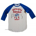 NFL 2013-4 New England Patriots Rookie Raglan Flocking / Mens