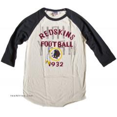 NFL 2013-4 Washington Redskins Rookie Raglan Flocking / Mens