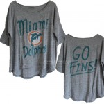 NFL Miami Dolphins GO FINS! Vintage Gameday T