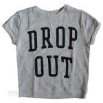 DROP OUT Calypso Cuffed Crop Fleece