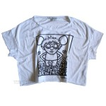 Keith Haring MOUSE Culprit Cropped T