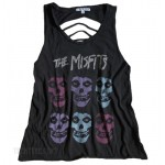 The Misfits Slash Back Tank