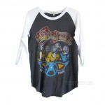 Aerosmith US '77 Tour Original Vintage Raglan