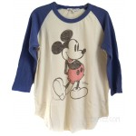 Mickey Original Vintage Raglan T Color Version
