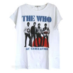 The Who My Generation Boyfriend Crew T
