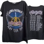 Aerosmith 1990 Pump Tour Boyfriend Crew T