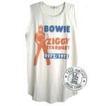 David Bowie ZIGGY Stardust Tri-Blend Raglan Tank