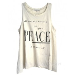Give Peace A Chance Swing Tank