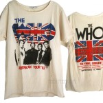 The Who US Tour '82 The Original Boyfriend T