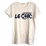 Le Chic Tri-Blend Fitted Crew Destroyed Finish T