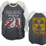The Who Destroyed 3/4 Sleeve Color Block Raglan T