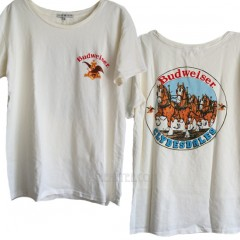 Budweiser 30 Year Wash Destroyed Finish Ex-Boyfriend T-shirt
