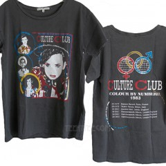 Culture Club 30 Year Wash Destroyed Ex-Boyfriend T-shirt