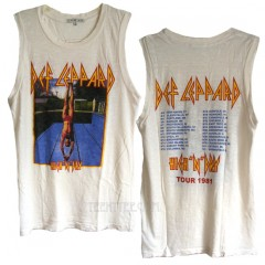 Def Leppard Destroyed Muscle Tank HIGH 'N' DRY