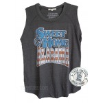 Sweet Home Alabama Lyric Tri-blend Raglan sleeve Tank