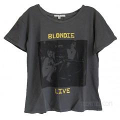 BLONDIE LIVE Slub Jersey Ex-Boyfriend T-shirt