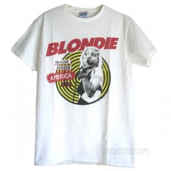 Blondie Tracks 1982 Junk Food Originals Unisex T-shirt