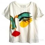 Donald Robertson Face Slub Jersey Ex Boyfriend T-shirt