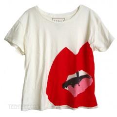 Donald Robertson Open Mouth Slub Jersey Ex Boyfriend T-shirt