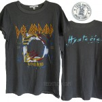 Def Leppard LOVE BITES Hysteria Destroyed Finish Vintage Wash T-shirt