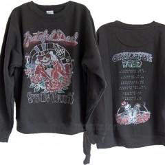 Grateful Dead Tour 91 Oversized Pullover Sweat Shirt with Soft Fleece