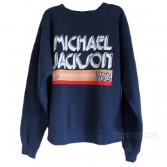 Michael Jackson 1983 Oversized Pullover Sweat Shirt with Soft Fleece