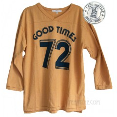 Good Times '72 Varsity V-Neck Sport Raglan T-shirt