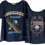 Journey World Tour Cotton Slub Ex-Boyfriend T-shirt