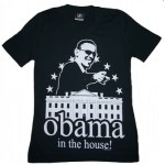 Barack Obama in the House T for Women