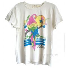 Colombia Parrot Tri-Blend Destination T-shirt
