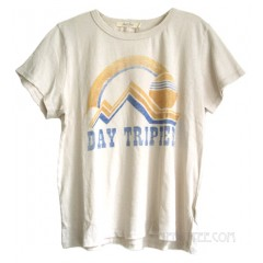 Day Tripper Destroyed Finish Tri-Blend T-shirt