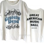 Grateful Dead Puffy Ink Print Boyfriend T-shirt
